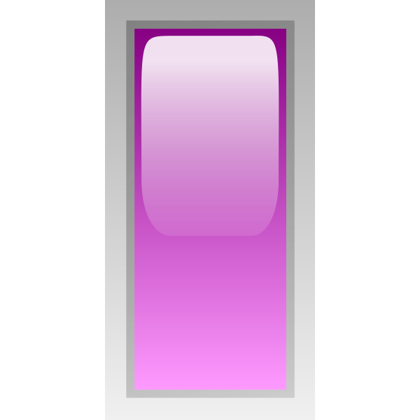 Rectangular purple box vector image