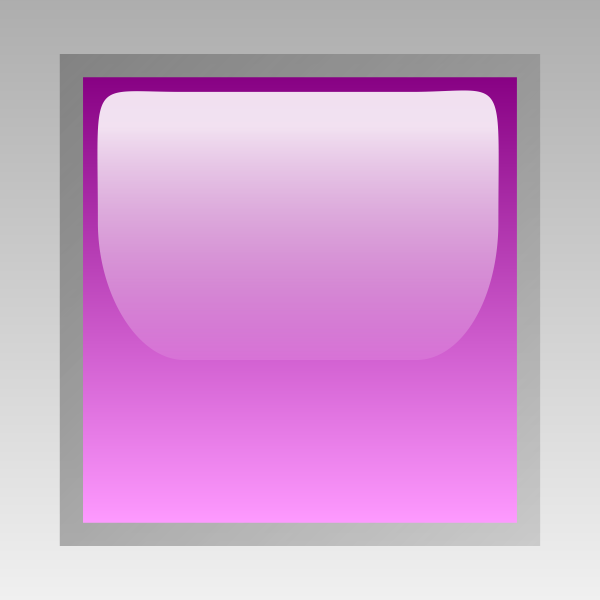 Led square purple vector image