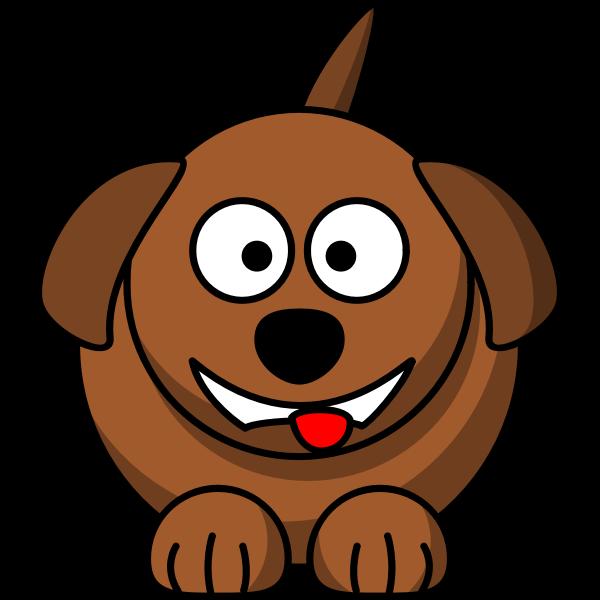 Vector image of lemmlings cartoon dog
