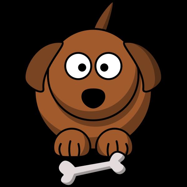 Cartoon Dog Vector Image Free Svg