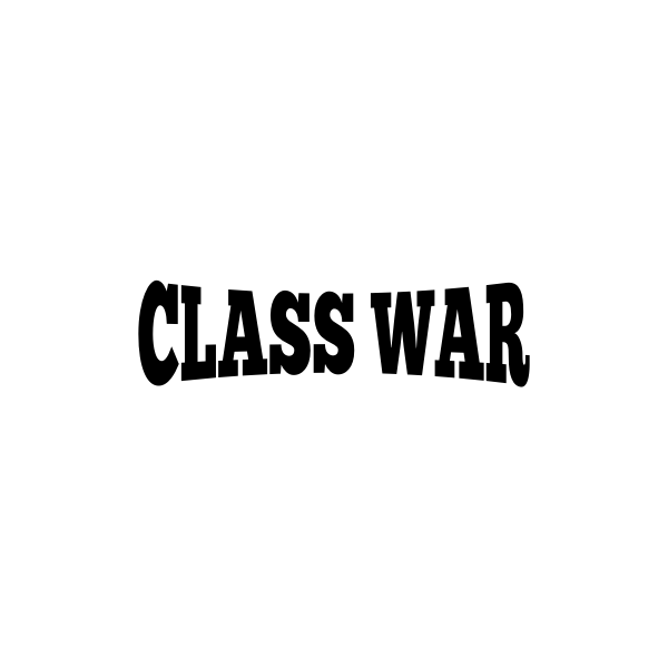 ''Class war'' silhouette