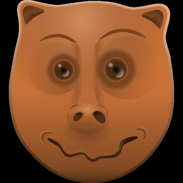 cartoon animal head