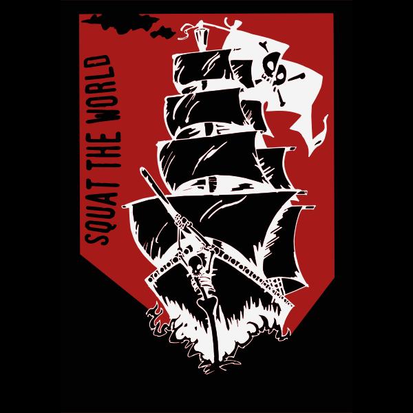 Squat the World - Pirate Ship