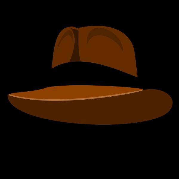 Adventure hat vector image