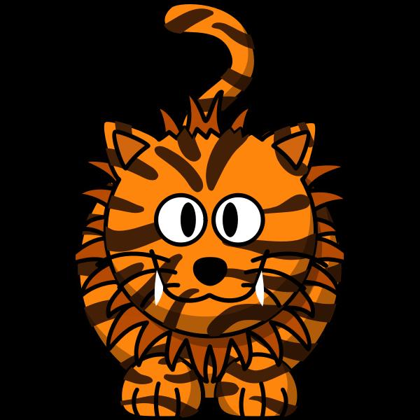 Cartoon liger