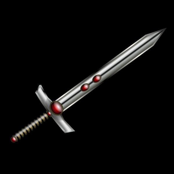 Jeweled sword
