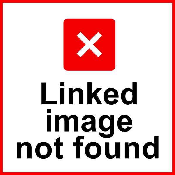 Linked image not found sign
