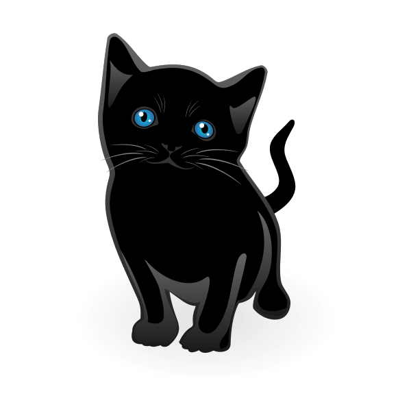 Little cat vector
