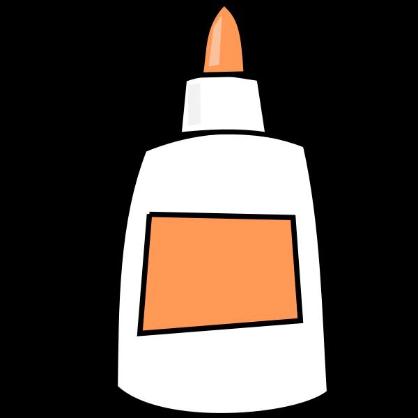 Glue vector image