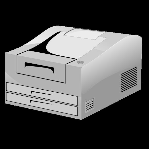 Laser Printer ln vector image