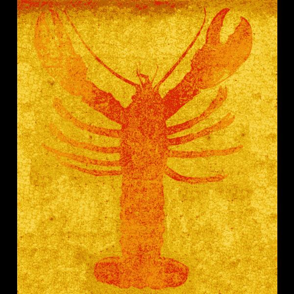 Lobster vector iamge