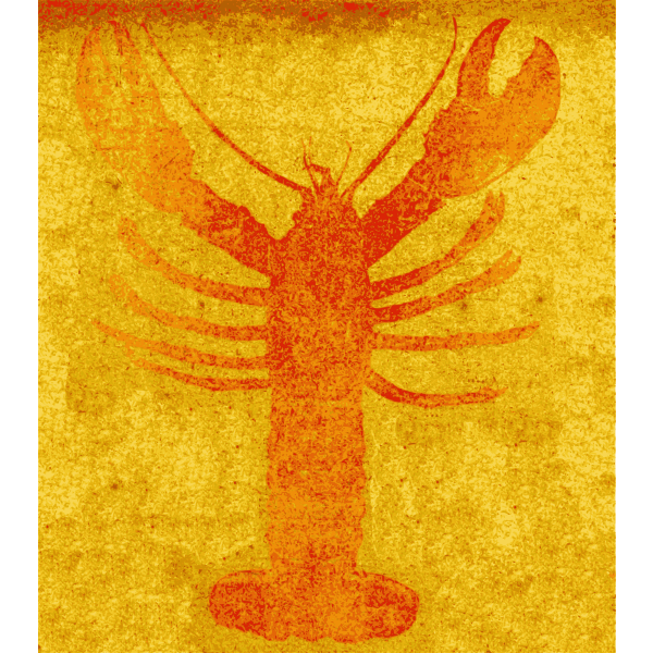 Lobster vector iamge