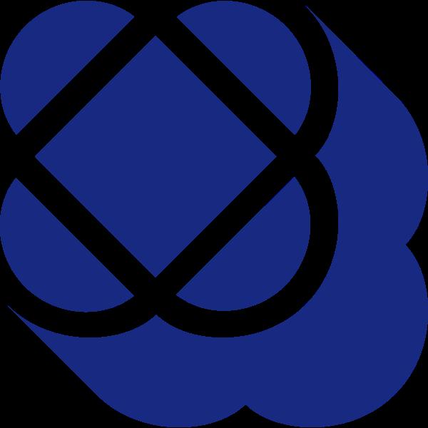 Logo clover trebol idea vector image