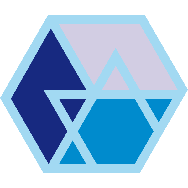 Blue vector logo