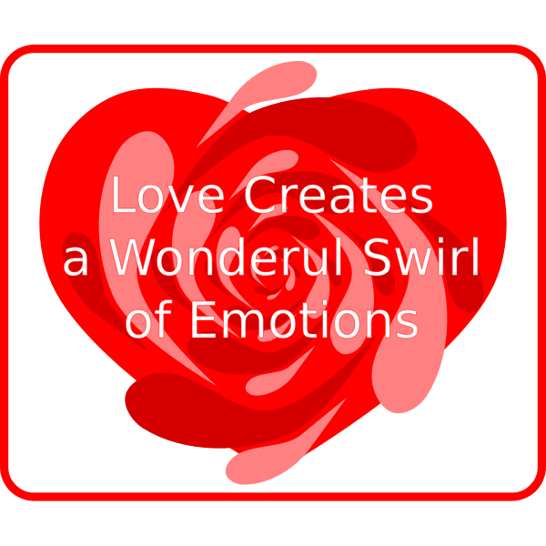 Love a Swirl of Emotions