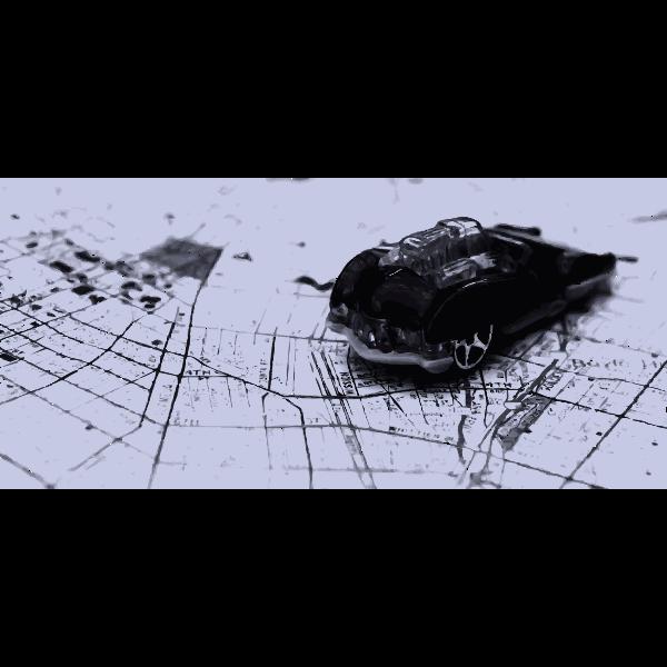 Photo-realistic vintage car vector clip art