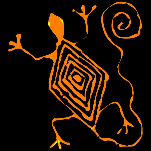 Architetto -- lucertola maya