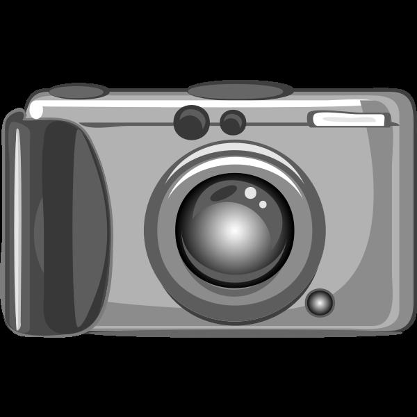 Vector clip art of amateur photography camera