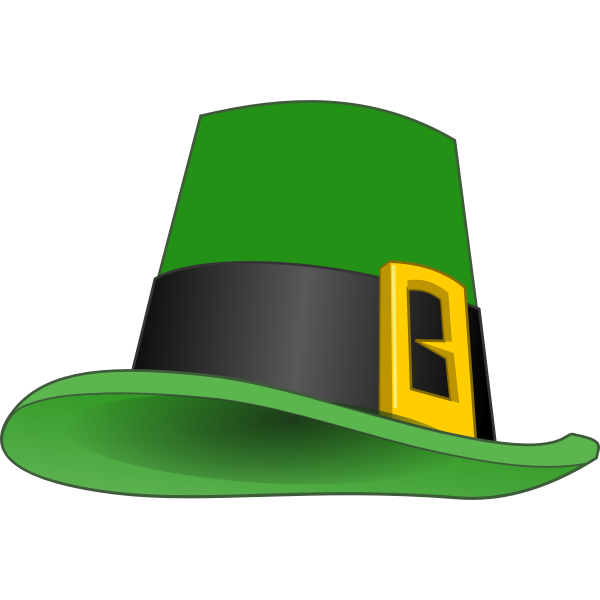 Leprechauns hat vector illustration