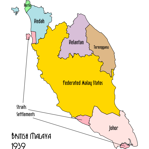 malaya political 1939