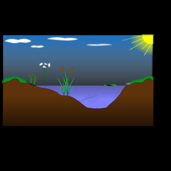 mare naturelle - natural pond