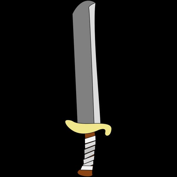 Sword vector clip art