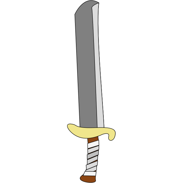 Sword vector clip art