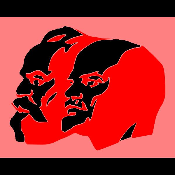 Marx and Lenin
