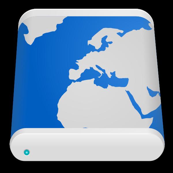 Remote drive icon