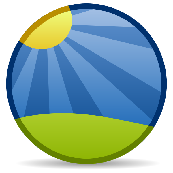 Photo emblem icon