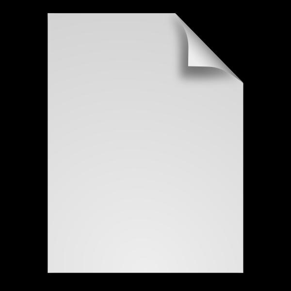 Generic file icon