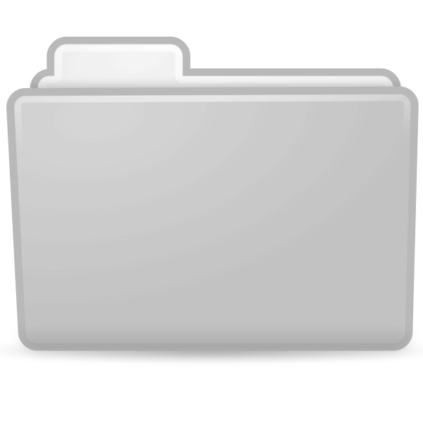Opened file icon