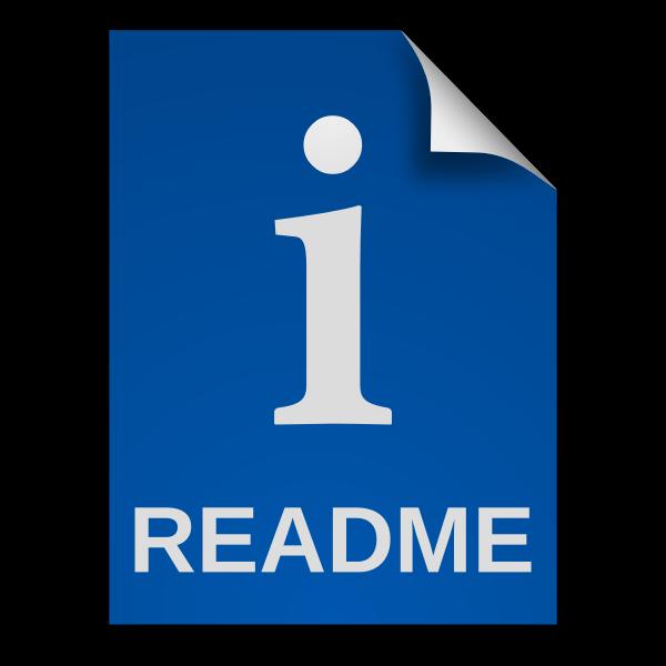 matt icons text x readme font fixed