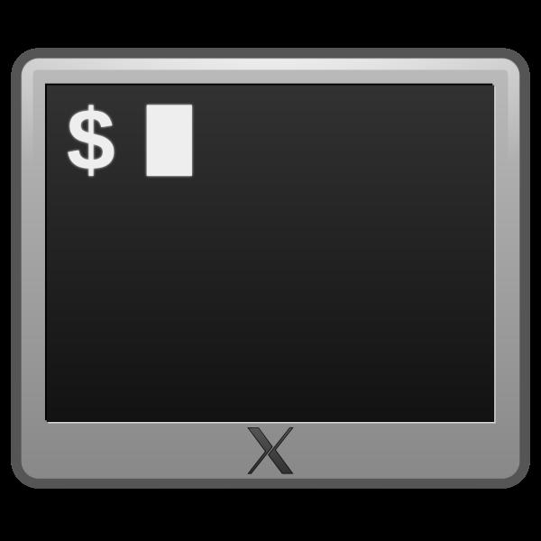 matt icons utilities terminal
