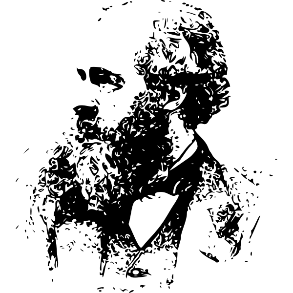 James Clerk Maxwell Sketch Free Svg