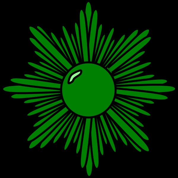 medal green