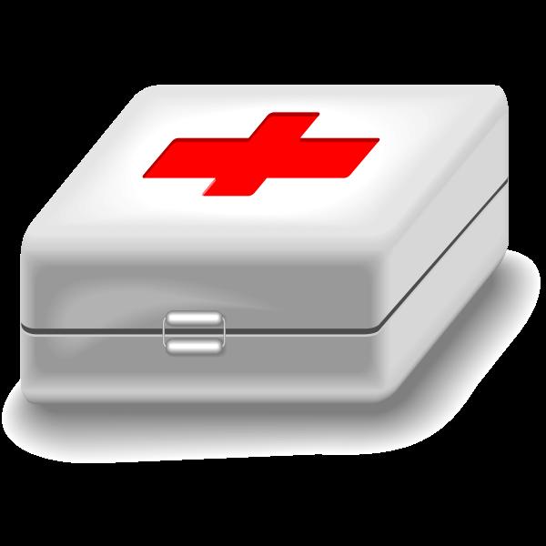 Medical kit vector