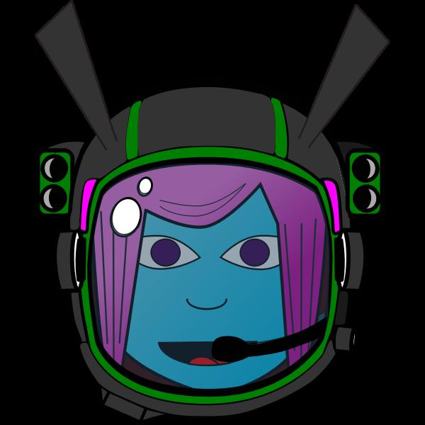 Girl Astronaut