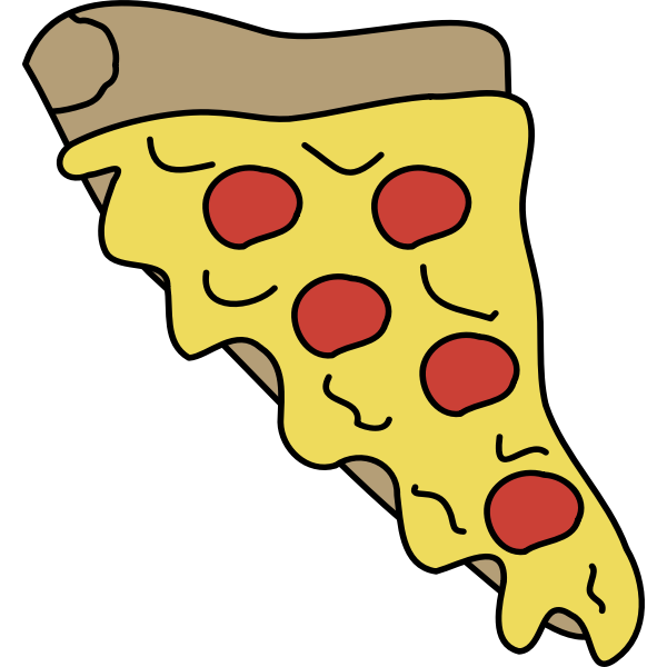Melty pizza