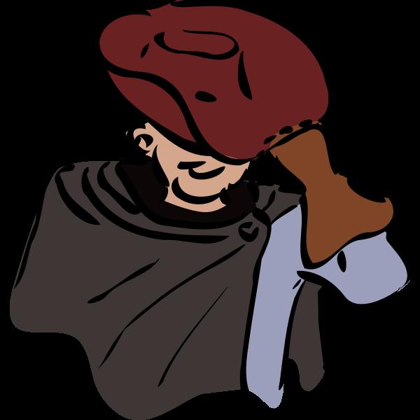 Thief drawing