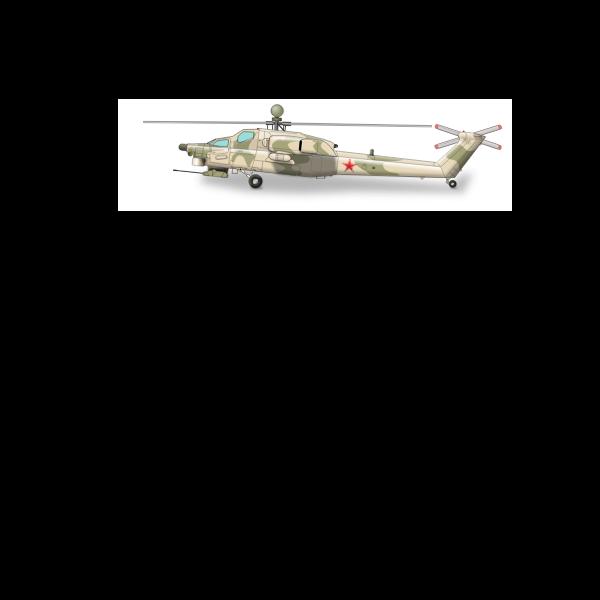 MI-28 chopper