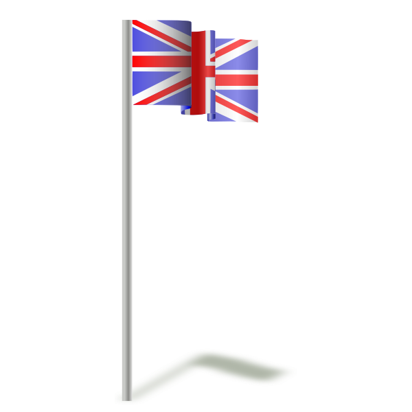 Flag of the United Kingdom vector graphics