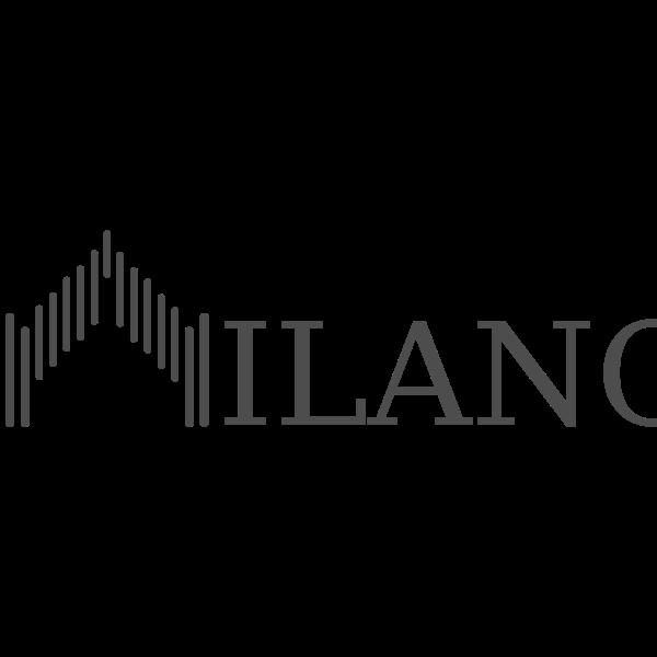 Milano text logotype
