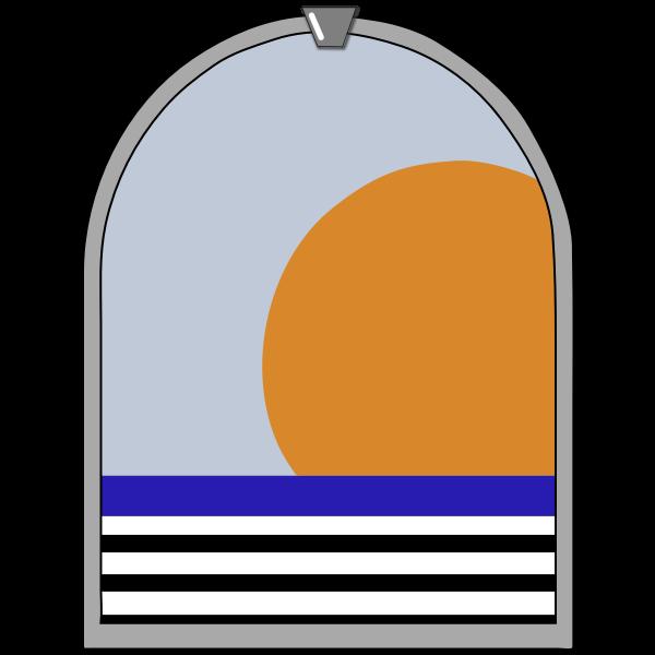 Mirror frame image