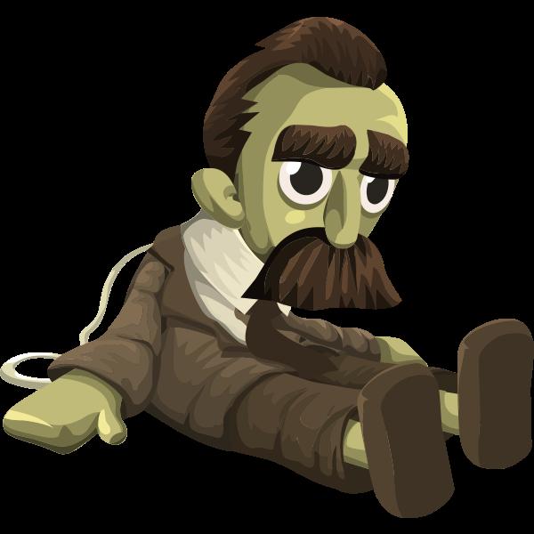 Nietzsche doll