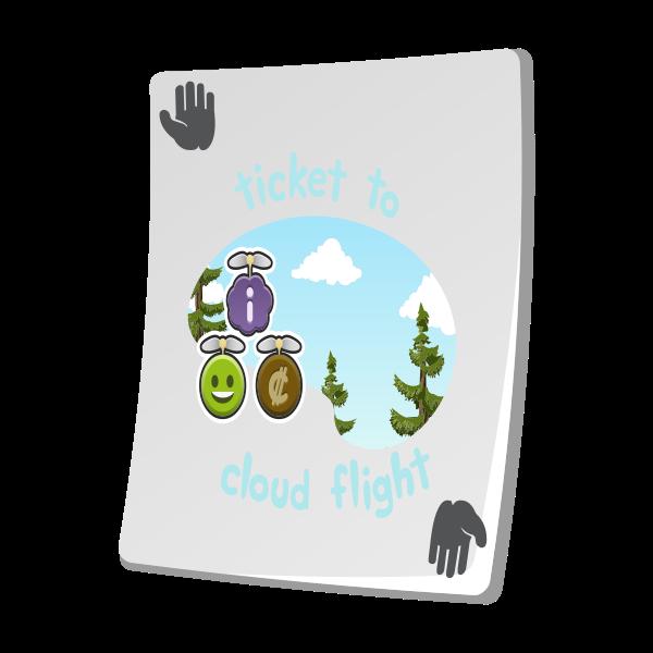 misc paradise ticket cloud flight