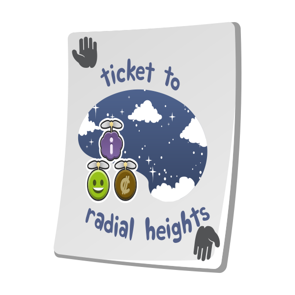 misc paradise ticket radial heights