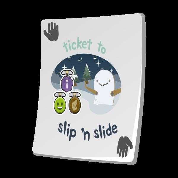 misc paradise ticket slip n slide