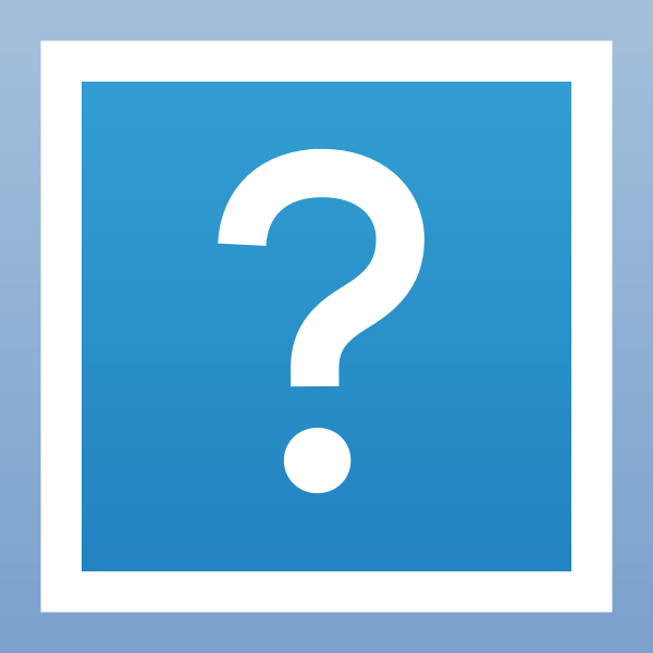 Question mark pictogram animation