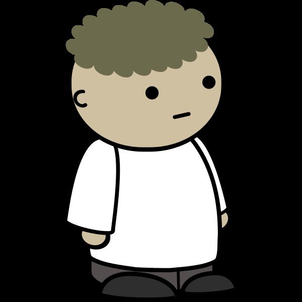 Curly kid